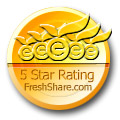5 Star freshshare award to RemoteSysInfo