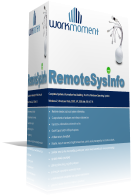 WorkMoment | RemoteSysInfo - Scan all hardware and software information of network computers on a single click.